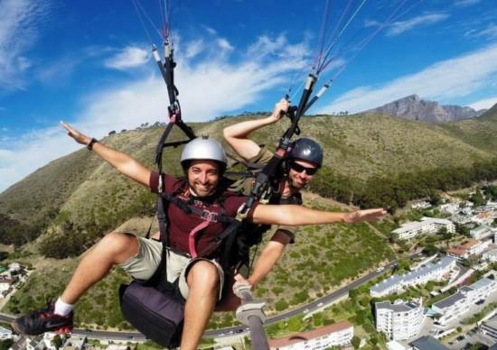 Parapente: como fazer esta aventura na África do Sul!