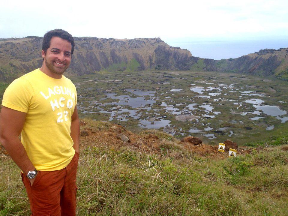 vulcão ilha de páscoa