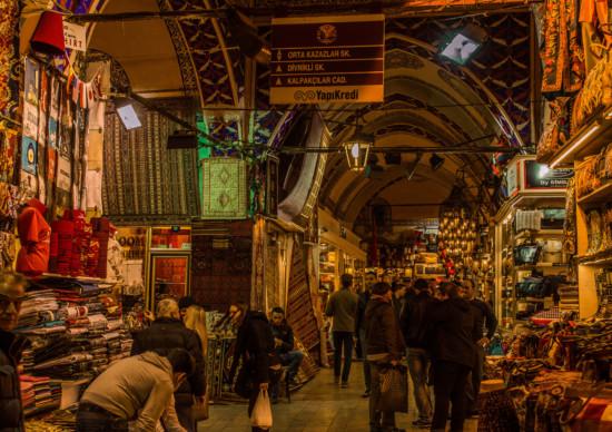 Gran Bazaar, em Istambul: paraíso das compras!