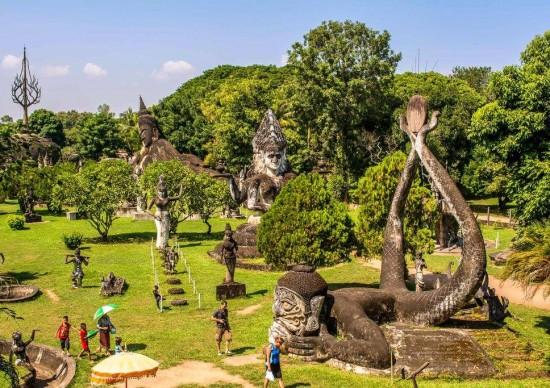 Conheça Vientiane, a capital do Laos, que mais parece uma cidadezinha do interior
