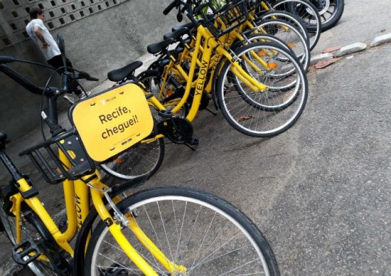 Sobre 2 rodas: Bikes e patinetes da Yellow chegam ao Recife