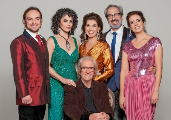 Comédia As Atrizes, de Juca de Oliveira, chega ao Teatro Opus