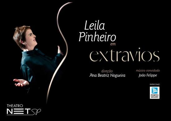 Boa Música: Leila Pinheiro apresenta a turnê Extravios, no Theatro NET!