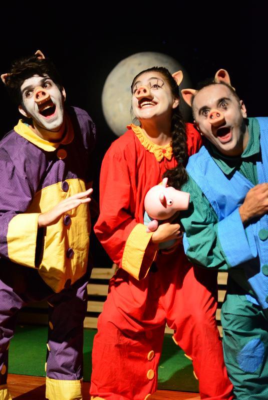 três porquinhos teatro folha