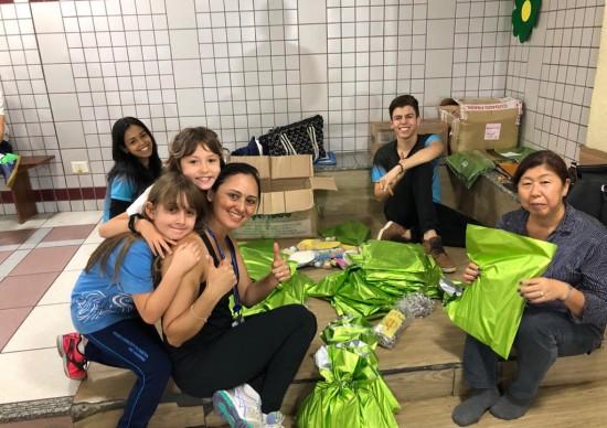 Boa Ação: Academia CEMI entrega cestas e brinquedos às crianças carentes da Brasilândia, em SP