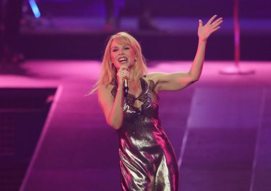 Kylie Minogue é a primeira atração musical GRLS no Memorial da América Latina!