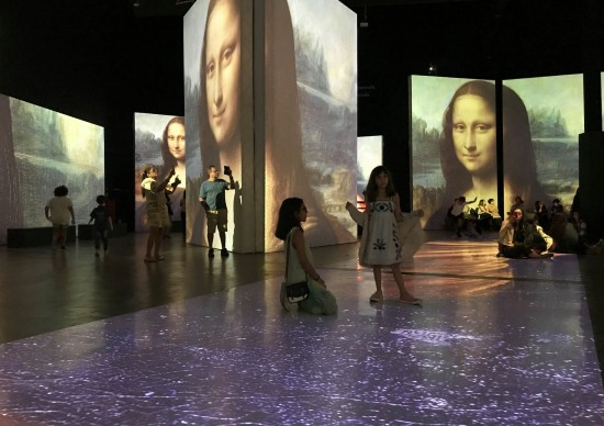 On Line: Exposição Leonardo da Vinci – 500 Anos está de volta!