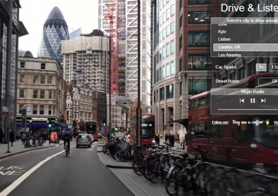 Que tal dar uma volta de carro por várias cidades mundo afora? Sim, é possível!