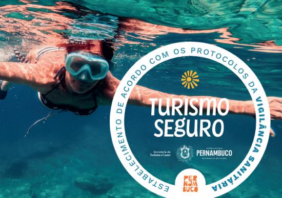 Pernambuco lança selo Turismo Seguro!