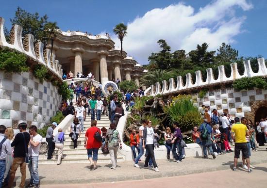 Espanha: Parque Guell agora no formato on line!