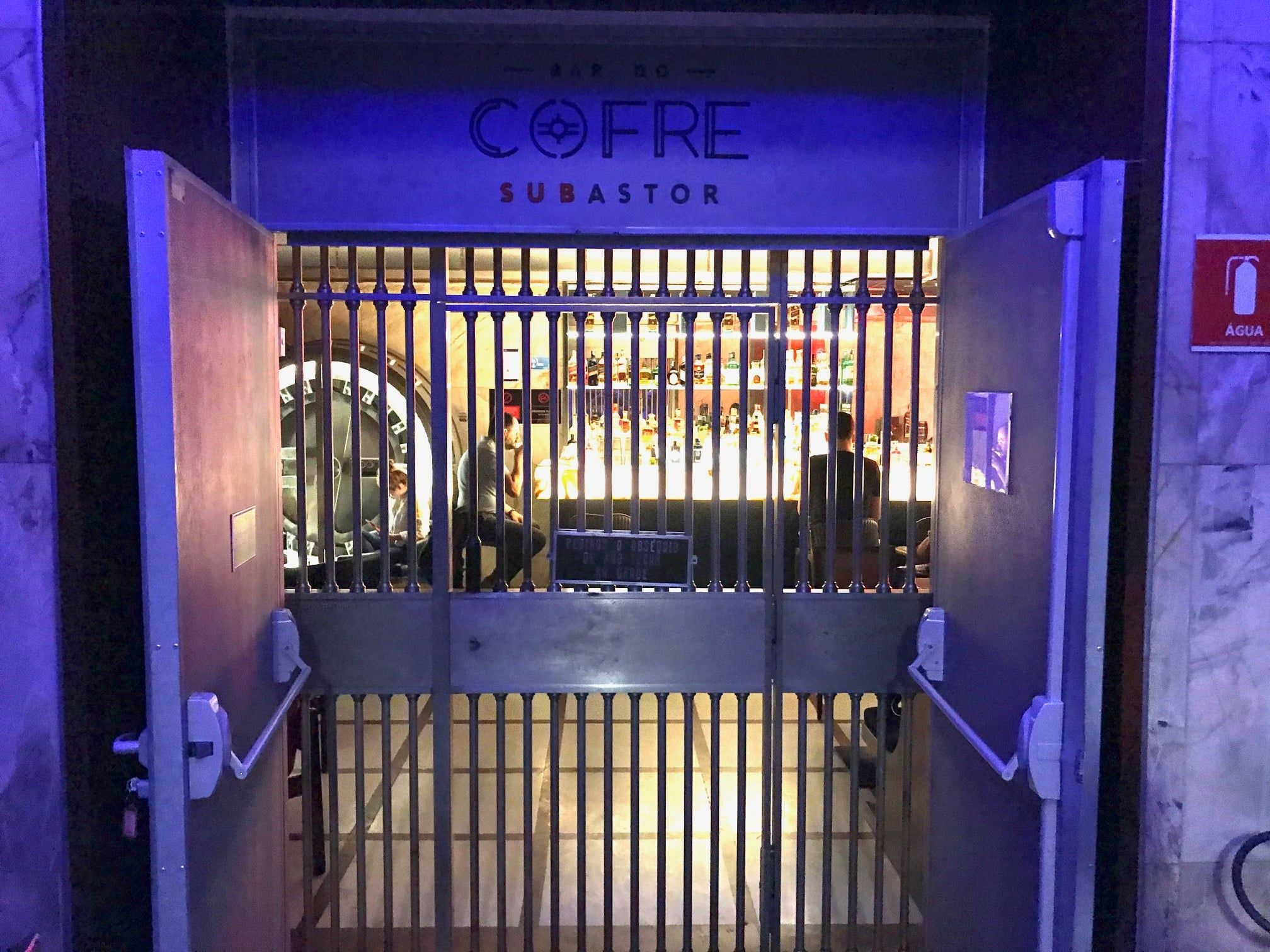 bar do cofre
