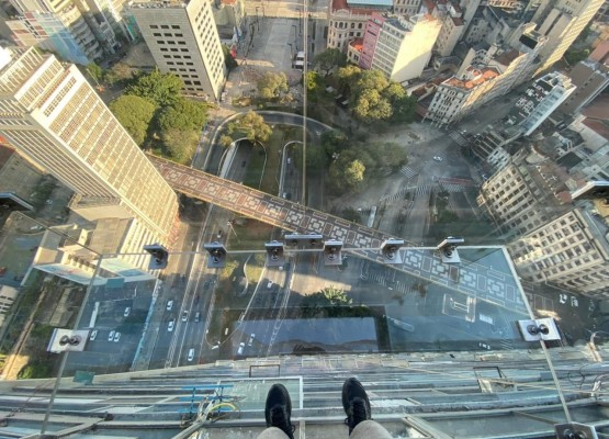 Novidade: Sampa Sky permite andar sobre a cidade a uma altura de 150m!